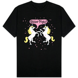 Unicorn Glitter Fight Shirts