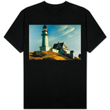Lighthouse at Two Lights T-shirty