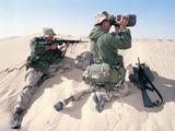 U.S. Marines Saudi Arabia Photographic Print by  Dejong