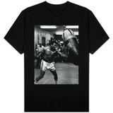 Muhammed Ali Boxer Training For the Fight with Leon Spinks Shirts