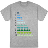 Cool Counting Apples T-shirts