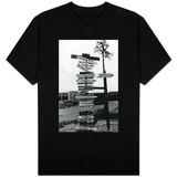 Signpost at Watson Lake, Alaska on Alaska Highway Photograph - Watson Lake, AK Shirt