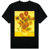 Still Life with Sunflowers Shirts