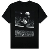 Goalkeeper Gordon Banks Makes a Spectacular Diving Save For His Club Side T-Shirt