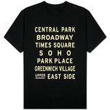 New York City Sign T-Shirt