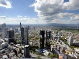 Travel Trip Frankfurt on a Budget Fotodruck von Michael Probst