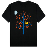 Orange Songbird T-shirts