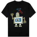 Wacky Waving Robot T-shirts
