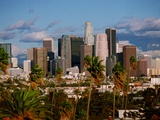 La Skyline Photographic Print by John Hayes