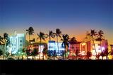 Ocean Drive-Miami Fotografía