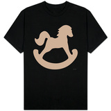 Brown Rocking Horse T-Shirt