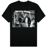 Jane Birkin and Serge Gainsbourg Arrived in London and Went Shopping in Berwick Street Market T-Shirts