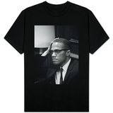Malcolm X waits at Martin Luther King Press Conference, 1964 Shirts