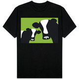Green Cows Shirts