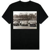 Saloon Car Race at the International '200' Meeting at Aintree, Jaguar S-Type Saloon Car, April 1961 T-Shirt