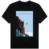 Purgatory, Colorado - Skier Jumping Skjorte