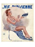 La Vie Parisienne, Georges Leonnec, 1937, USA Poster
