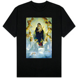 The Virgin With Angels T-Shirts