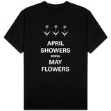 Chuvas de abril Camiseta