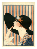 La Vie Parisienne, G Barbier, 1918, France Prints