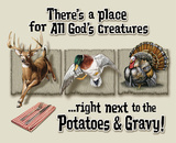 Place for All God's Creatures Cartel de chapa