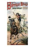 Buffalo Bill's Wild West Show, 1898, USA - Giclee Baskı