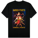 Ramos Pinto Vintage Poster - Europe T-Shirt