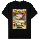 Grindelwald, Switzerland - View of the Bear Hotel Promotional Poster T-Shirt