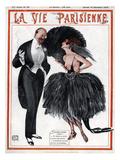 La Vie Parisienne, Georges Leonnec, 1919, France Giclée-Druck