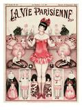 La Vie Parisienne, Armand Vallee, 1924, France Gicléedruk