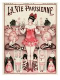 La Vie Parisienne, Armand Vallee, 1924, France Posters