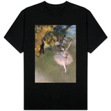 The Star, or Dancer on the Stage, circa 1876-77 T-shirts