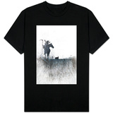 Death rides a horse T-shirts