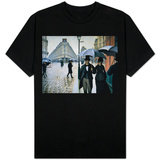 Paris, A Rainy Day Shirts