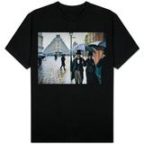 Paris, A Rainy Day T-shirts