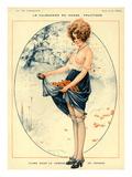 La Vie Parisienne, Maurice Milliere, 1918, France Giclee Print