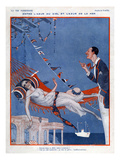 La Vie Parisienne, Rene Vincent, 1923, France Giclee Print