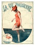 La Vie Parisienne, Georges Leonnec, France Giclee Print