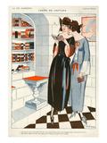 La Vie Parisienne, F Fabiano, 1922, France Posters