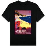Antibes Vintage Poster - Europe Shirts
