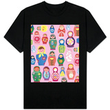 Happy Nesting Dolls T-shirts