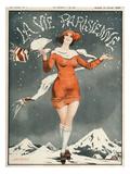 La Vie Parisienne, Leo Pontan, 1924, France Print
