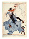 La Vie Parisienne, Georges Pavis, 1922, France Giclee Print