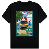Key West, Florida - Southernmost Point T-shirts