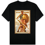 U*S*A Bonds, Third Liberty Loan Campaign, Boy Scouts of America Weapons for Liberty T-shirts