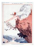 La Vie Parisienne, Armand Vallee, 1923, France Giclee Print