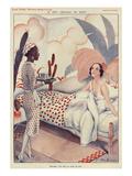 La Vie Parisienne, Fabien Fabiano, France Prints