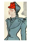 Womens Fashion 1930s, 1939, UK Poster