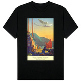 Pan-American Clipper Flying Over China - Hong Kong, China T-shirts