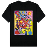 Abstract Party Scene T-shirts